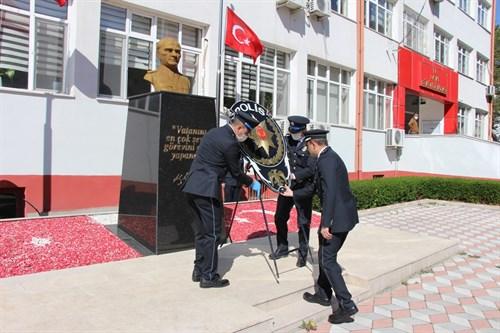 Türk Polis Teşkilatının 175. kuruluş yıldönümü İlçemizde Çeşitli Etkinliklerle Kutlandı